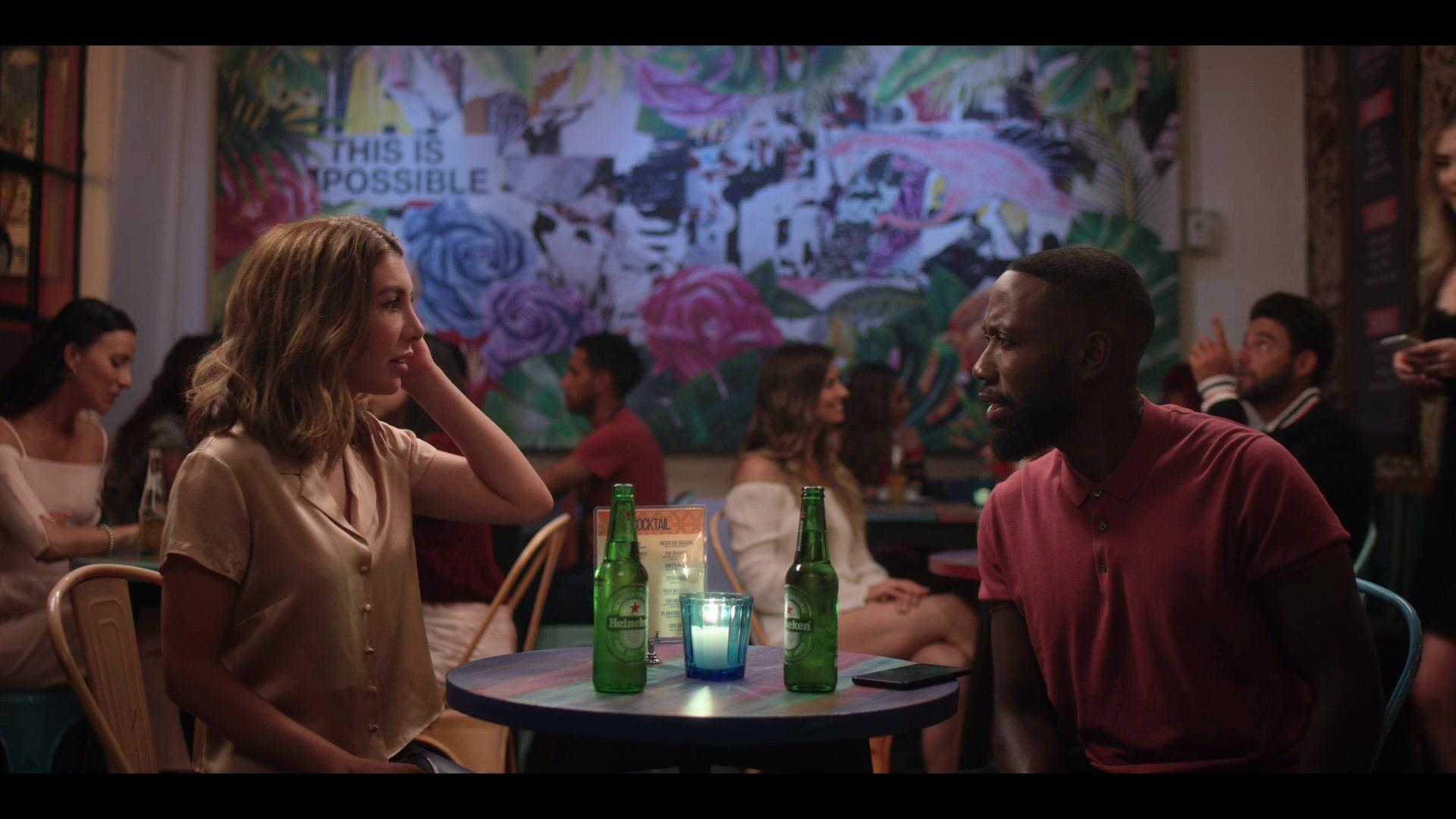 Heineken Beer Enjoyed By Nasim Pedrad In Desperados 2020