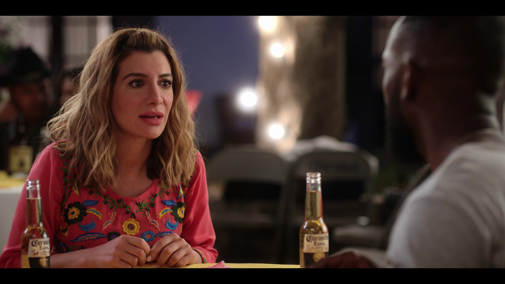 Corona Extra Beer Enjoyed By Nasim Pedrad In Desperados 2020