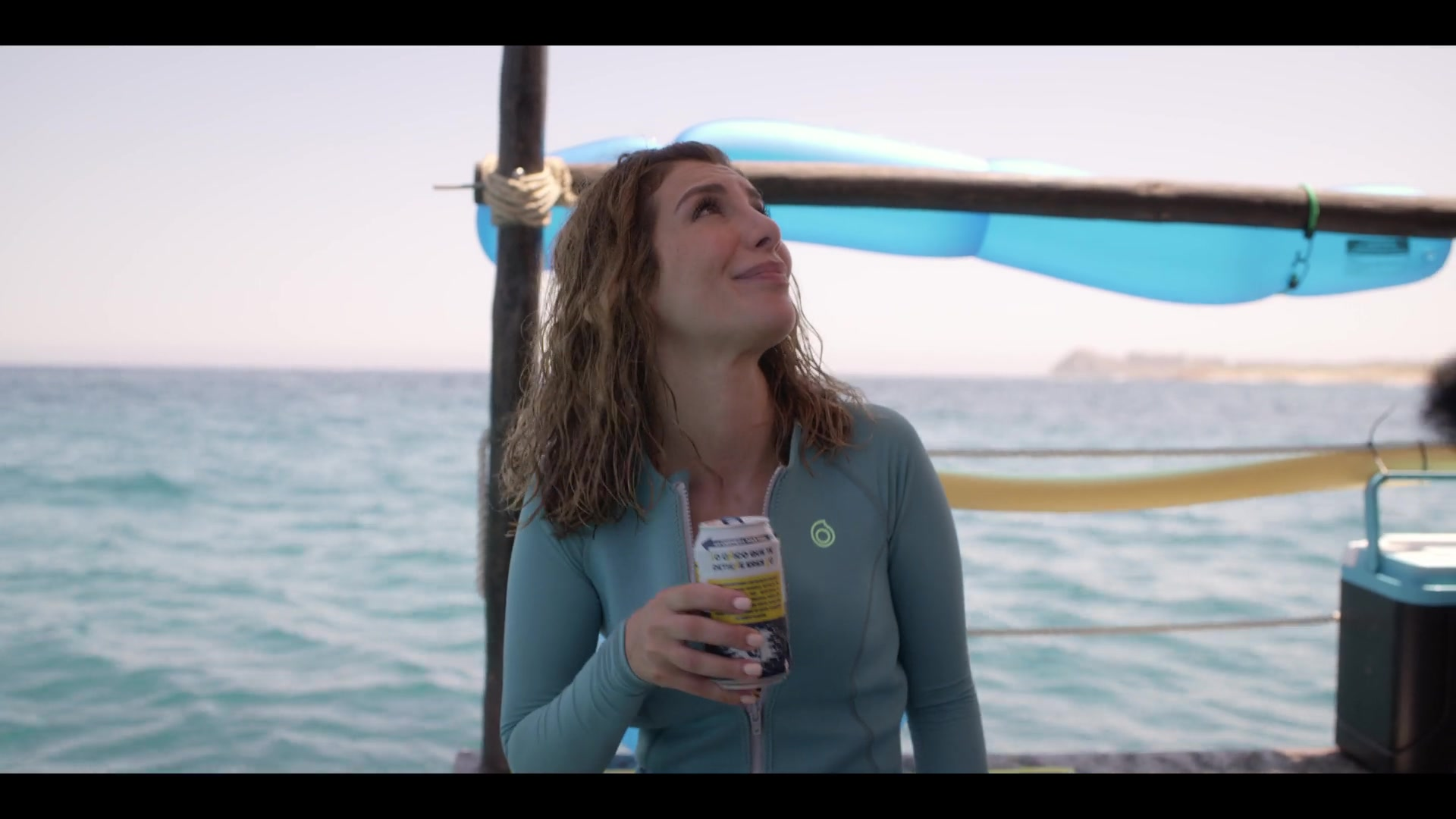 Subea Snorkelling Top Worn By Nasim Pedrad In Desperados 2020