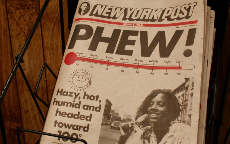 New York Post Newspaper in Do the Right Thing (1989)