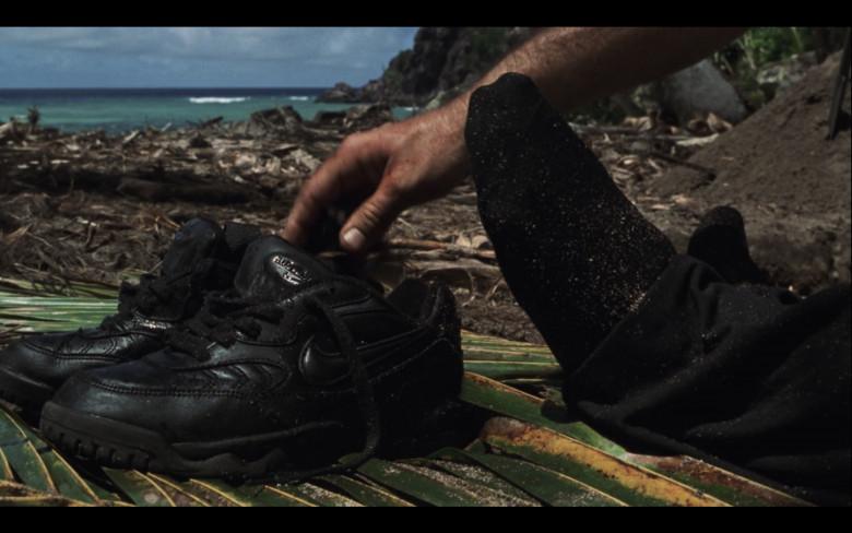 Nike Air Max Black Sneakers in Cast Away (2000)