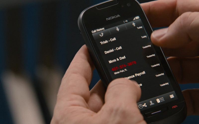 Nokia Mobile Phone of Jason Bateman in Identity Thief (1)