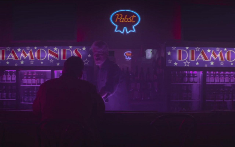 Pabst Beer Neon Sign Seen in The Silencing Film (1)