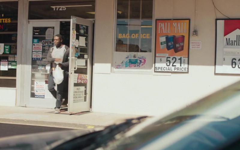 Pall Mall and Marlboro Cigarettes Posters in Hooking Up (2020)