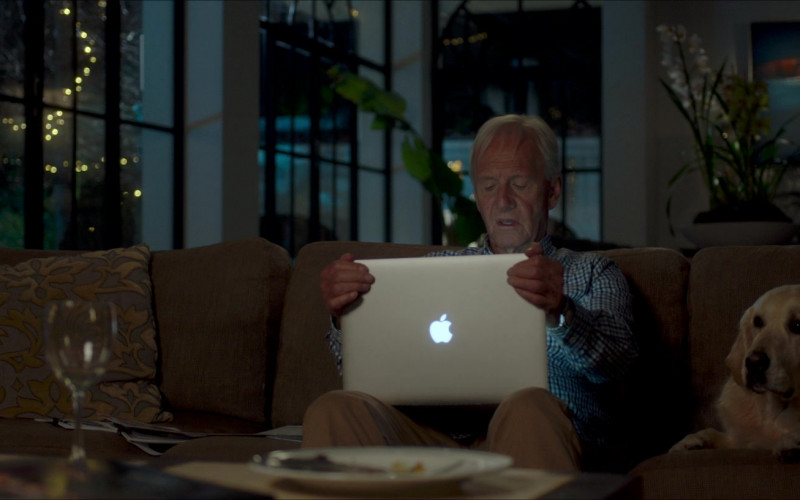 Paul Hogan Using Apple MacBook Laptop in The Very Excellent Mr. Dundee (2020) Movie