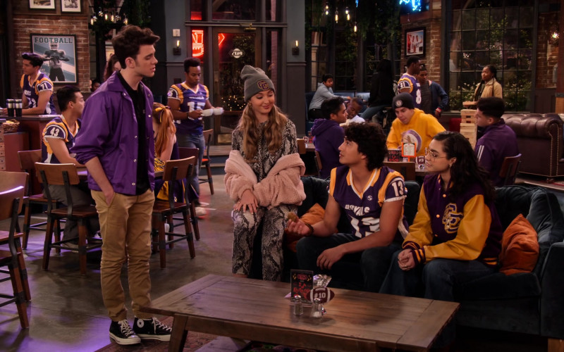 Reed Horstmann Wears Converse High-Top Sneakers Outfit