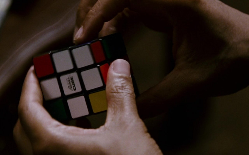 Rubik's Cube Held by Will Smith as Chris Gardner in The Pursuit of Happyness (1)