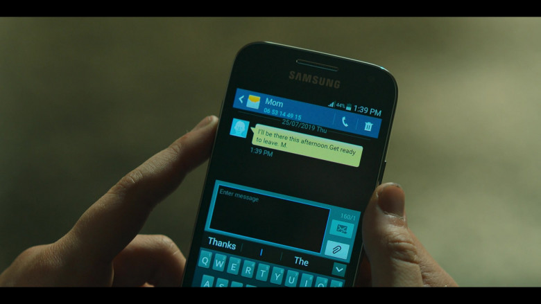 Samsung Galaxy Smartphone Used by Esme Creed-Miles in Hanna TV Show by Amazon