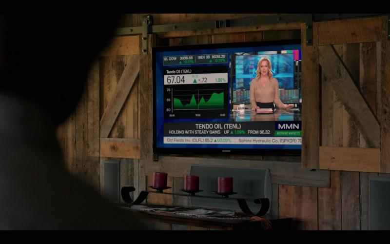 Samsung TV in Yellowstone S03E04