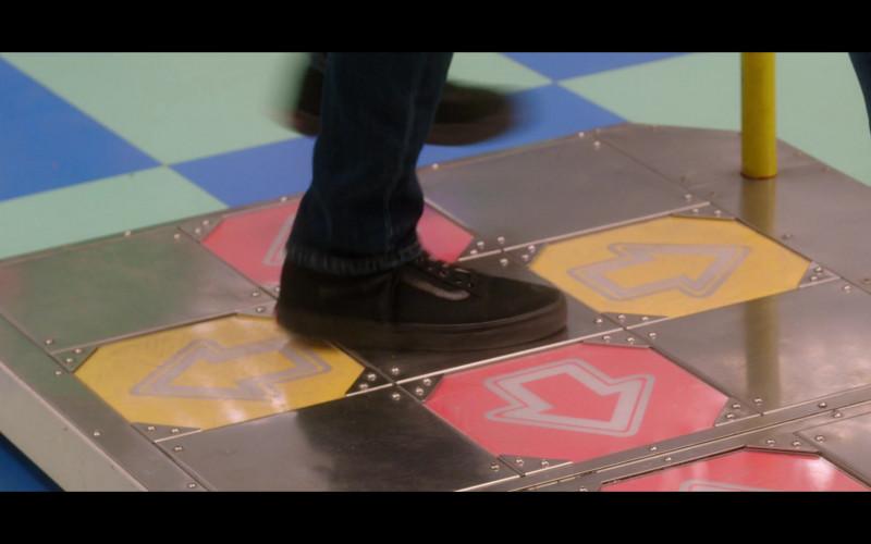 Taylor Zakhar Perez Wears Vans Black Low Top Sneakers