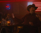 Tecate Beer Neon Sign in Identity Thief (2013)