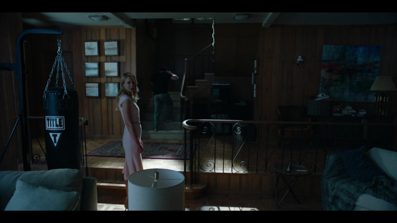 Title Boxing Punching Bag in Condor S02E06