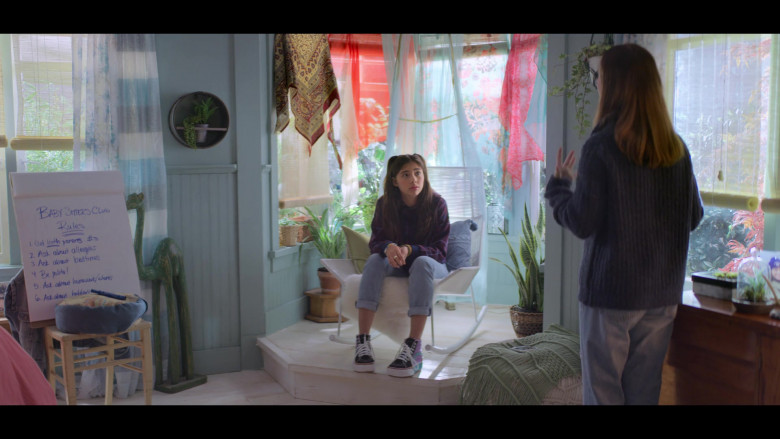 Vans Platform High Top Shoes Worn by Xochitl Gomez as Dawn Schafer in The Baby-Sitters Club S01E05
