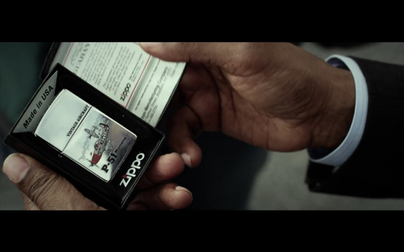 Zippo Lighter in Flight Movie (3)
