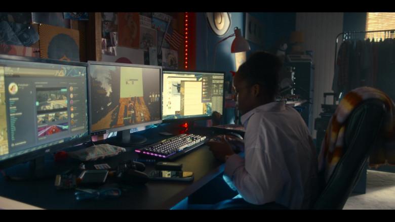 AOC Monitor in Get Even S01E01