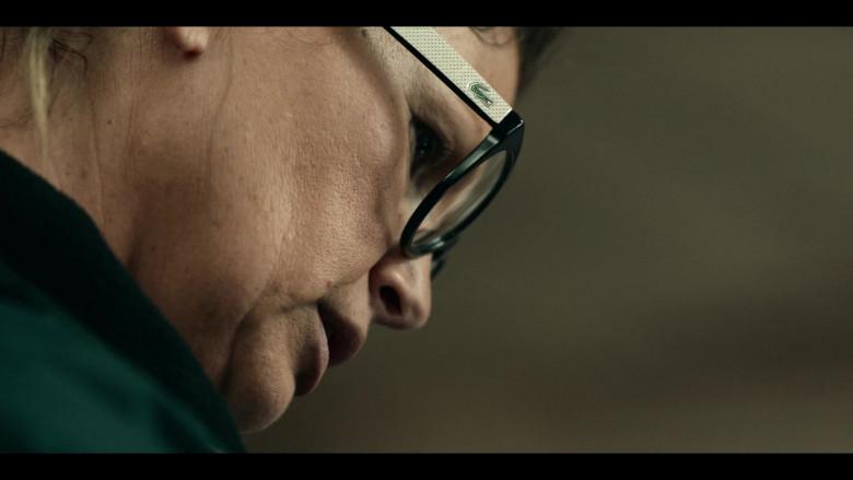 Actress Wears Lacoste Eyeglasses For Women in Project Power (2020)