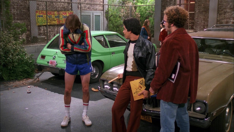 Adidas Blue Shorts of Ashton Kutcher as Michael Kelso in That '70s Show (2)