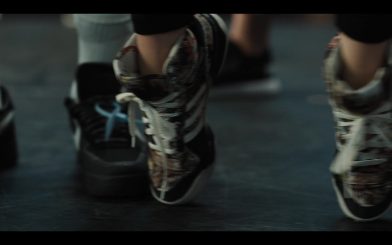 Adidas Originals x Topshop 'Mattitude' High Top Sneakers in Work It 2020 Netflix Film (1)