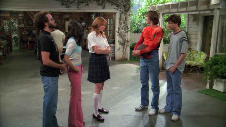 Adidas Sneakers Outfit Worn by Ashton Kutcher as Michael in That '70s Show S05E03
