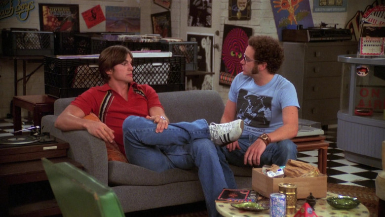 Adidas Sneakers of Ashton Kutcher as Michael Kelso in That '70s Show S08E02 (1)