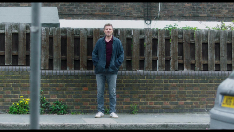 Adidas Sneakers and Casual Outfit of Liam Neeson in Made in Italy (3)