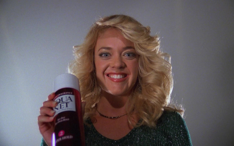 Aqua Net Hair Spray of Lisa Robin Kelly as Laurie Forman in That '70s Show (2)
