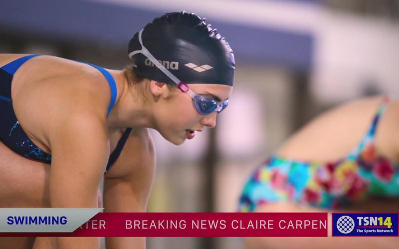 Arena Swim Cap of Peyton List in Swimming for Gold