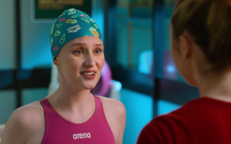 Arena Swimsuit and Swim Cap in Swimming for Gold (1)