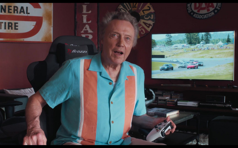 Arozzi Gaming Chair of Christopher Walken as Jerry