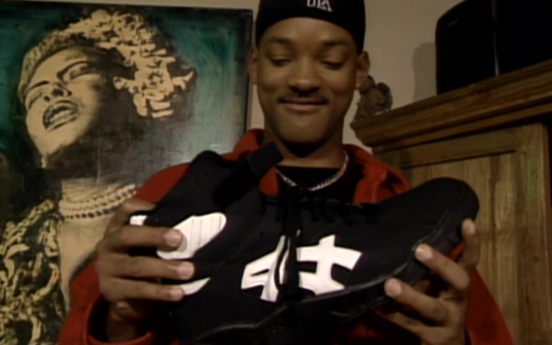 Asics Black High Top Sneakers of Will Smith in The Fresh Prince of Bel-Air S06E19 (1)