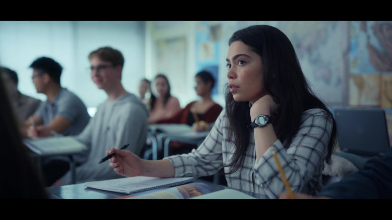 Auliʻi Cravalho as Amber Wears Timex Expedition Unisex Watch in All Together Now Movie by Netflix (3)