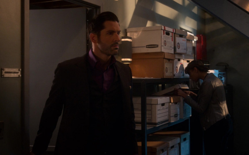 Bankers Box in Lucifer S05E08 Spoiler Alert (2020)