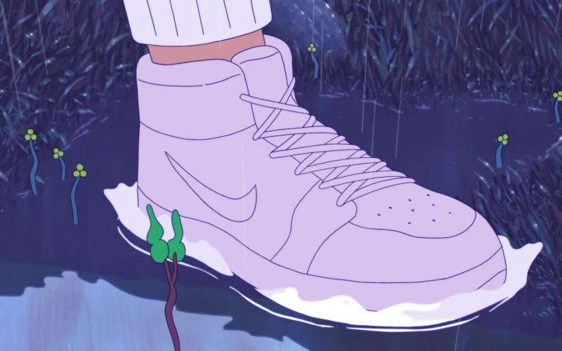 Billie Eilish Wears Nike Shoes in My Future Music Video (1)