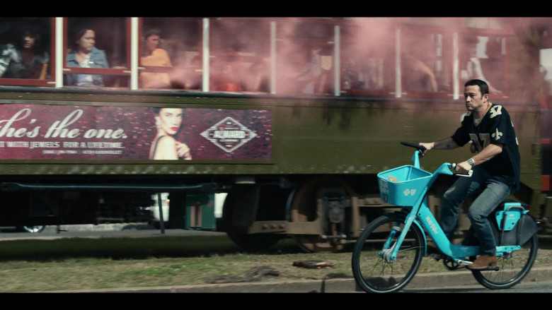 Bluebikes Bicycle Used by Joseph Gordon-Levitt in Project Power (2)