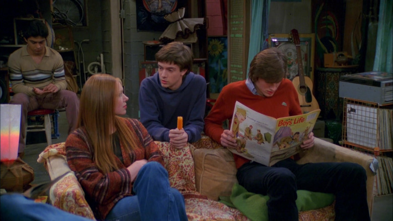 Boys' Life Magazine Held by Ashton Kutcher as Michael Kelso in That '70s Show (3)