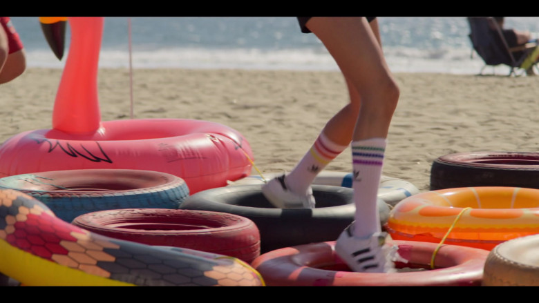 Breanna Yde as Gina Wears Adidas Sneakers and Socks Outfit (1)