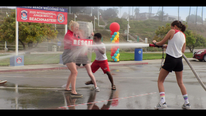 Breanna Yde as Gina Wears Adidas Sneakers and Socks Outfit (2)