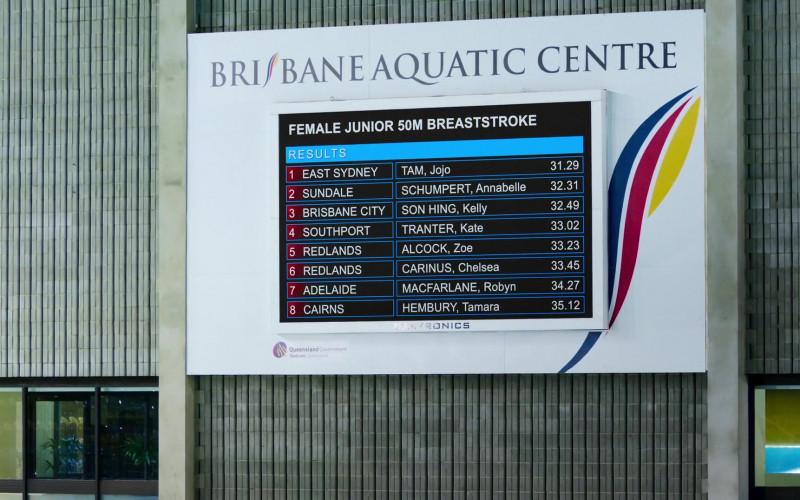 Brisbane Aquatic Centre in Swimming for Gold Movie (1)