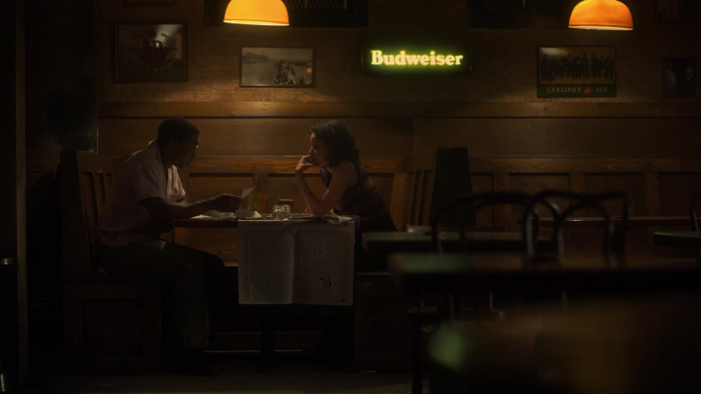 Budweiser Sign in Lovecraft Country Season 1 Episode 3