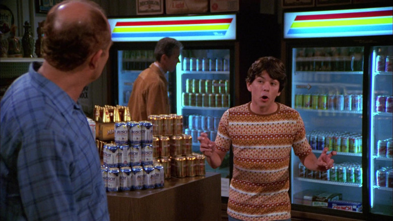 Busch Beer Cans in That '70s Show S01E06