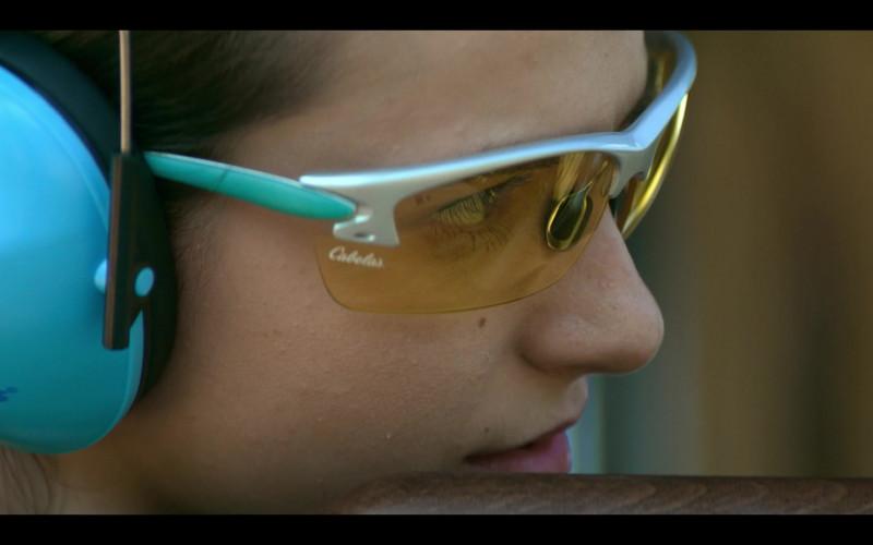Cabela's Shooting Glasses Anjelica Bette Fellini as Blair in Teenage Bounty Hunters S01E07 (2)