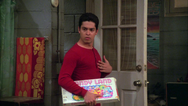 Candy Land Board Game (by Milton Bradley Company) Held by Wilmer Valderrama as Fez in That '70s Show S08E17 (2)