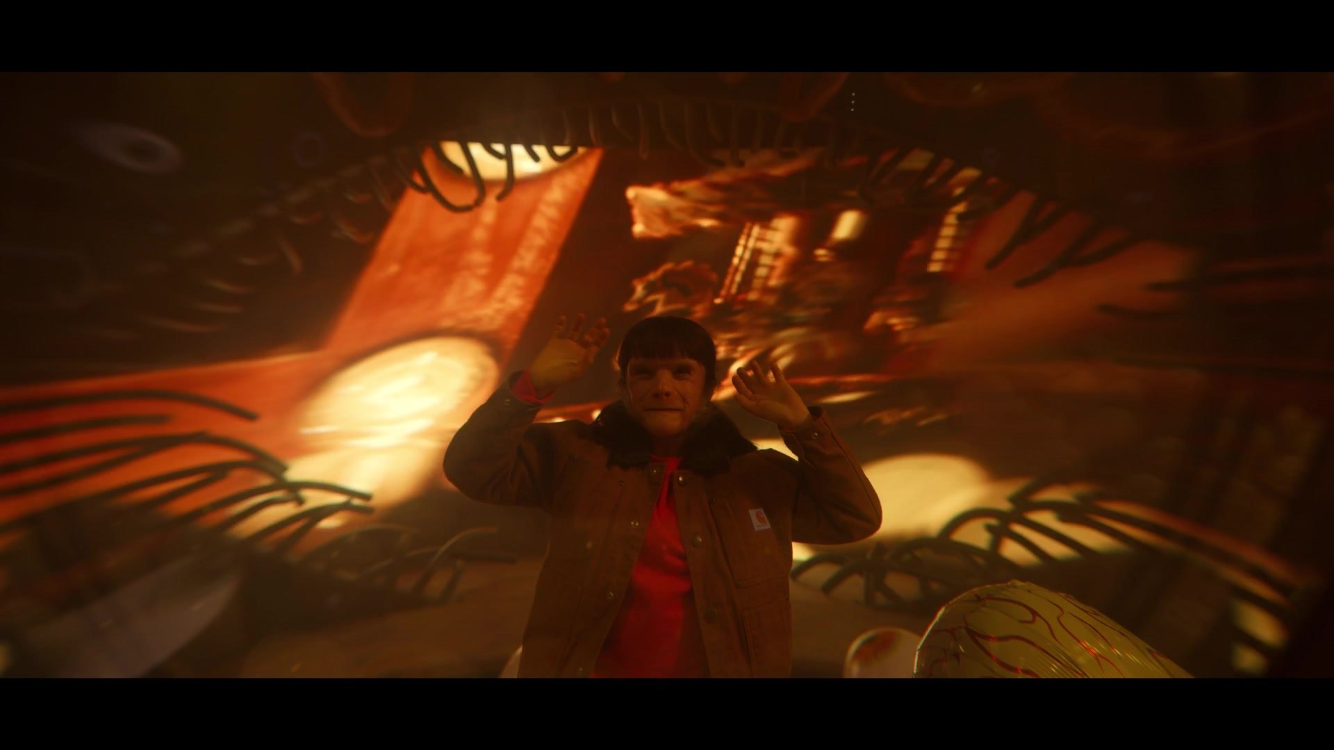 Carhartt Jacket Of Abigail Shapiro As Dorothy Spinner In Doom