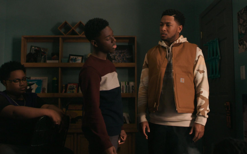 Carhartt Vest Outfit of Jacob Latimore (1)