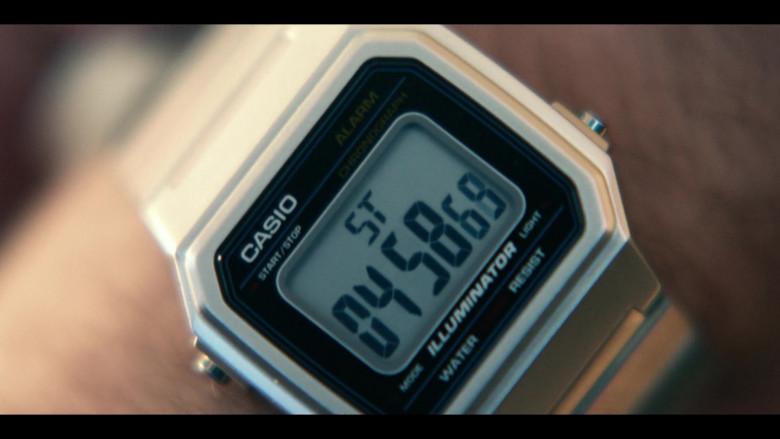 Casio Illuminator Watch of Joseph Gordon-Levitt in Project Power (1)