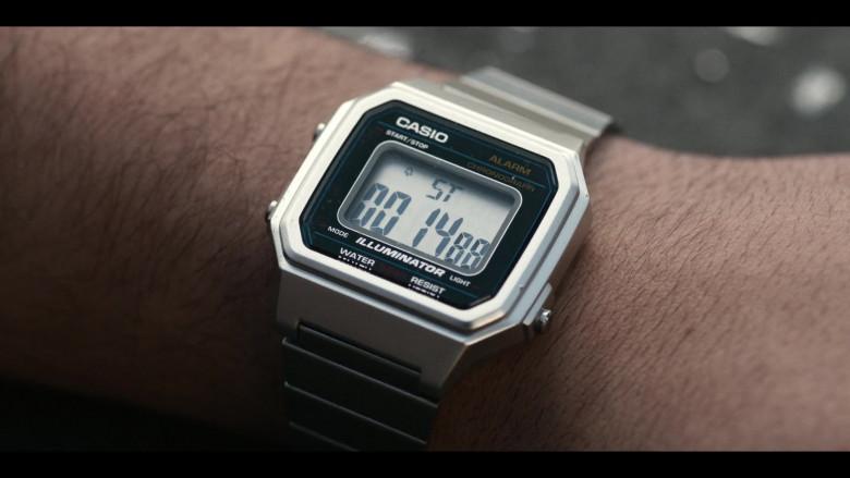 Casio Illuminator Watch of Joseph Gordon-Levitt in Project Power (2)