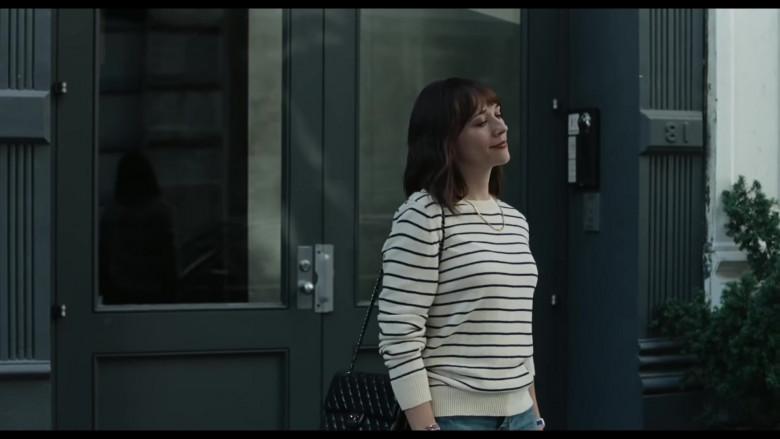 Chanel Handbag Outfit of Rashida Jones as Laura in On the Rocks (2020)