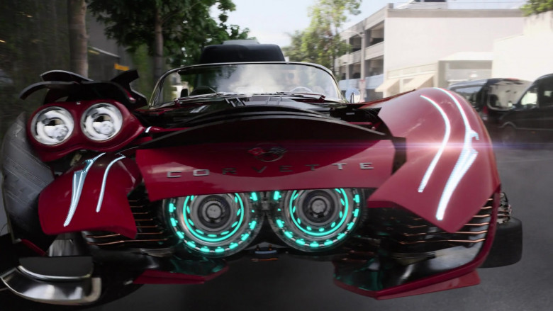 Chevrolet Corvette Red Car in Agents of S.H.I.E.L.D. S07E13 (2)