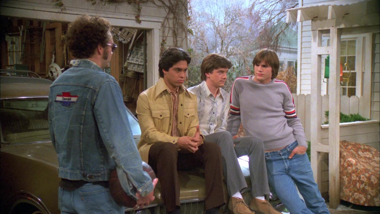 Chevrolet Patch Denim Jacket of Danny Masterson as Steven in That '70s Show S05E14 (1)