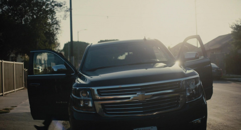 Chevrolet Suburban Car in The Tax Collector (1)